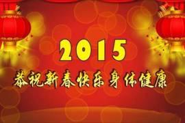 2015年祝大家新年快乐