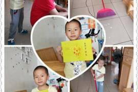 重阳节日,幼儿园布置的手工乐器作业
