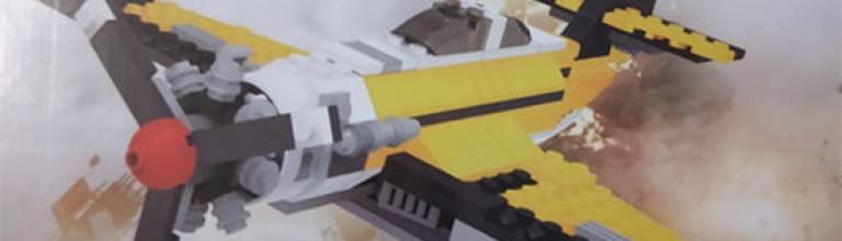 儿童益智拼装积木玩具 纯粹是大人被玩具玩