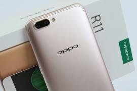 OPPO R11手机相机怎么开启构图线网格和水印?