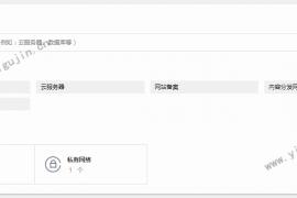 如何創建騰訊云的域名信息模板以便以后注冊域名使用?